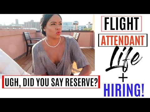 Flight Attendant Job Openings!  | Back On Reserve + Travel Benefits!