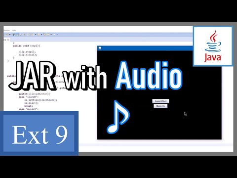 How to make a JAR file with resources (audio) - Java Game Development Extra 9