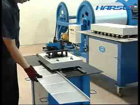 Lock Forming Machine For Duct Industrial Duct Making