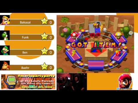 Mario Party Party 11/4 Game 1: The recruit