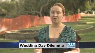 Bride Says Lodi Ruined Wedding Venue With Bright Orange Netting