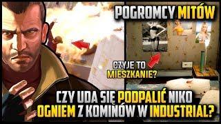 Igranie z ogniem oraz mieszkanie kumpla  - Niko w roli pogromcy mitów w GTA 4 #07