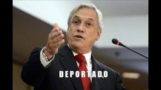 Piñera anuncia la deportación de 12 mil inmigrantes ilegales