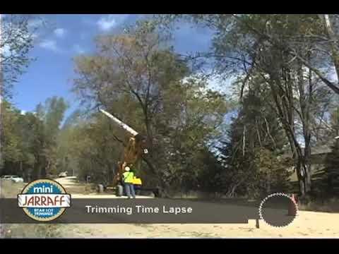 Mini-Jarraff Rear Lot Trimmer Time Lapse