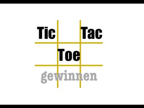 Tic Tac Toe Immer Gewinnen