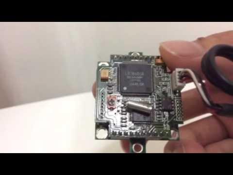 #4 trash picked CCD camera module
