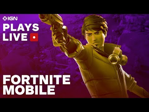 Download Youtube: Fortnite on iOS with an iPhone X Gameplay Livestream - IGN Plays Live