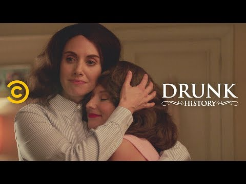 Edie Windsor's Long, Hard Fight for Marriage Equality (feat. Alison Brie) - Drunk History