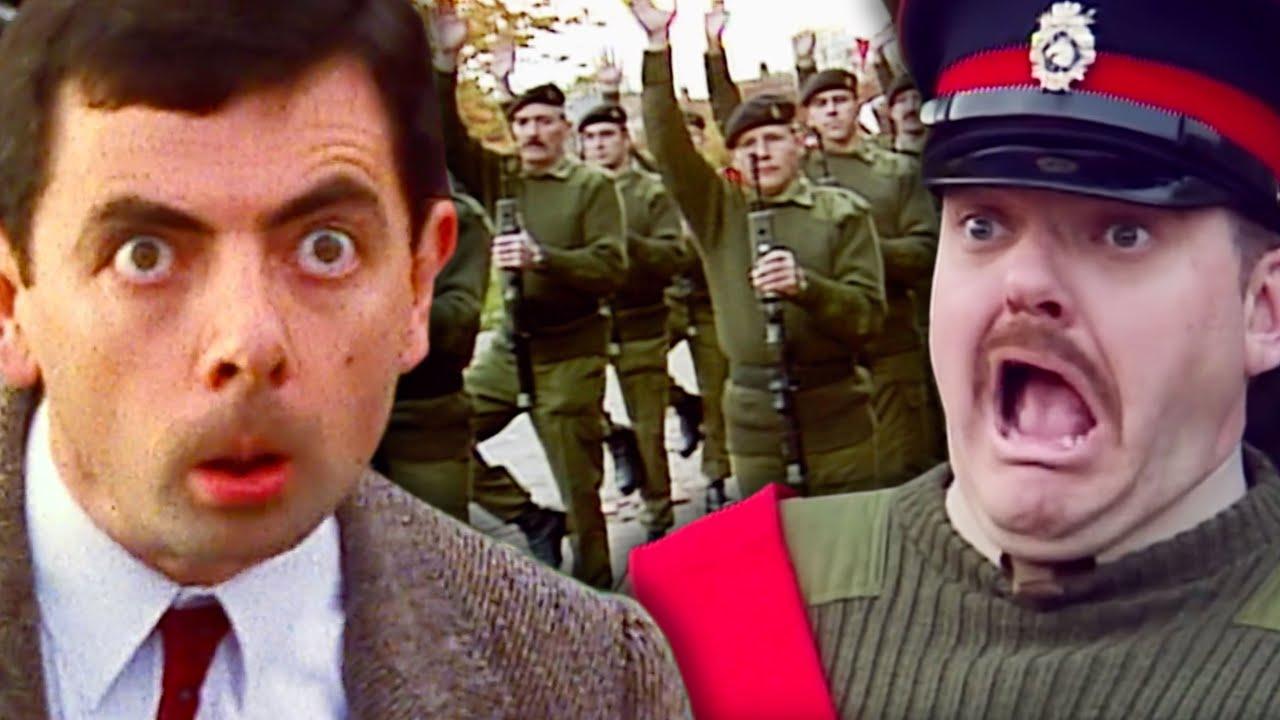 SOLDIER Bean | Mr Bean Full Episodes | Mr Bean Official