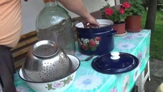 видео Вино из клубники в домашних условиях простой рецепт
