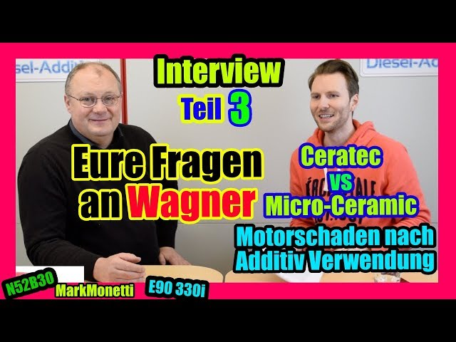 Eure Fragen Teil 3 | Micro-Ceramic vs Ceratec | Additiv = Motorschaden?! | off-topic | MarkMonetti