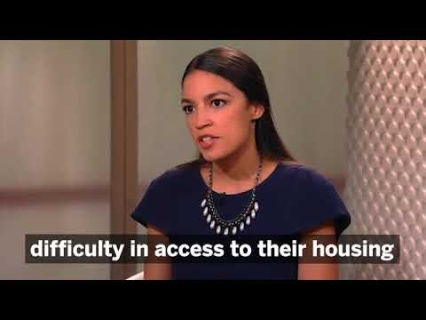 American Voices: Alexandria Ocasio-Cortez Fumbles Through Questions On Israel And Palestine...
