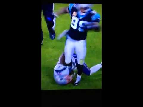 Aqib Talib & Steve Smith Brawl After Talib Holds His Ankle & Trys To Flip Him Even Throws A Punch