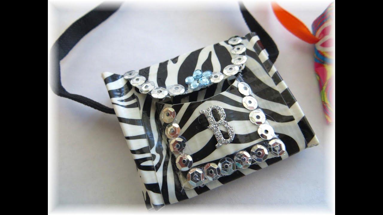 C mo hacer una cartera o bolsa para mu ecas how to make - Como hacer bolsos con salvamanteles ...