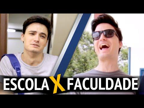 ESCOLA X FACULDADE [+13]