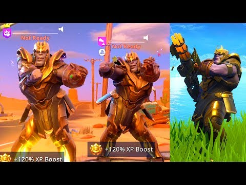 SO I PLAYED AS THANOS V2 in Fortnite Battle Royale & Heres What Happened...