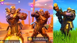 SO I PLAYED AS THANOS V2 in Fortnite Battle Royale & Here's What Happened...