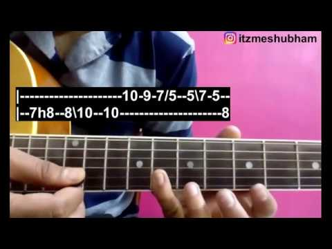Mitwa (Full Song) Guitar Tabs Tutorial | Kabhi Alvida Na Kehna ...