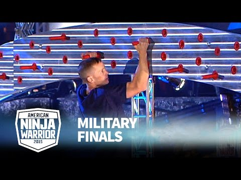 Matthew Jensen at 2015 Military Finals | American Ninja Warrior