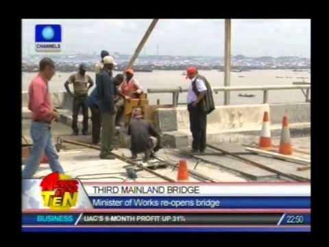 Chronicle of Third Mainland Bridge repairs