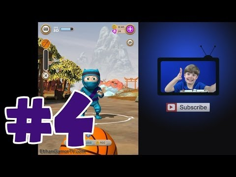 Clumsy Ninja #4 | Mobile Games | KID Gaming