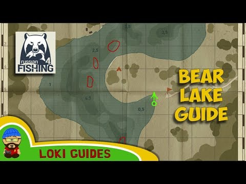 Bear Lake Guide - Best Spots & Baits for Float, Feeder and Spinning - Russian Fishing 4