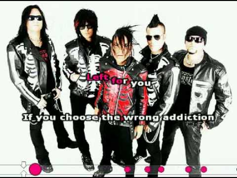 The 69 Eyes - Never Say Die KARAOKE