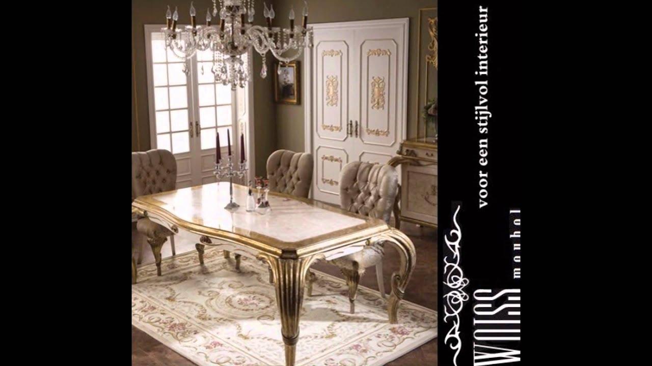 Te Koop aangeboden Klassieke barok WOISS woonkamer meubelen - YouTube