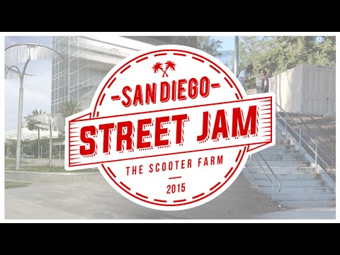 San Diego Street Jam 2015 | Presented by The Scooter Farm (Official)
