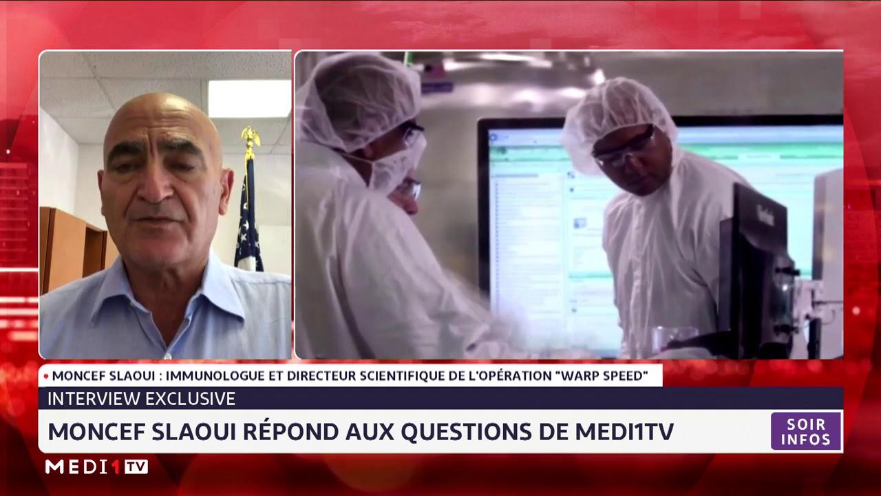 Interview exclusive: Moncef Slaoui répond aux questions de Medi1 TV
