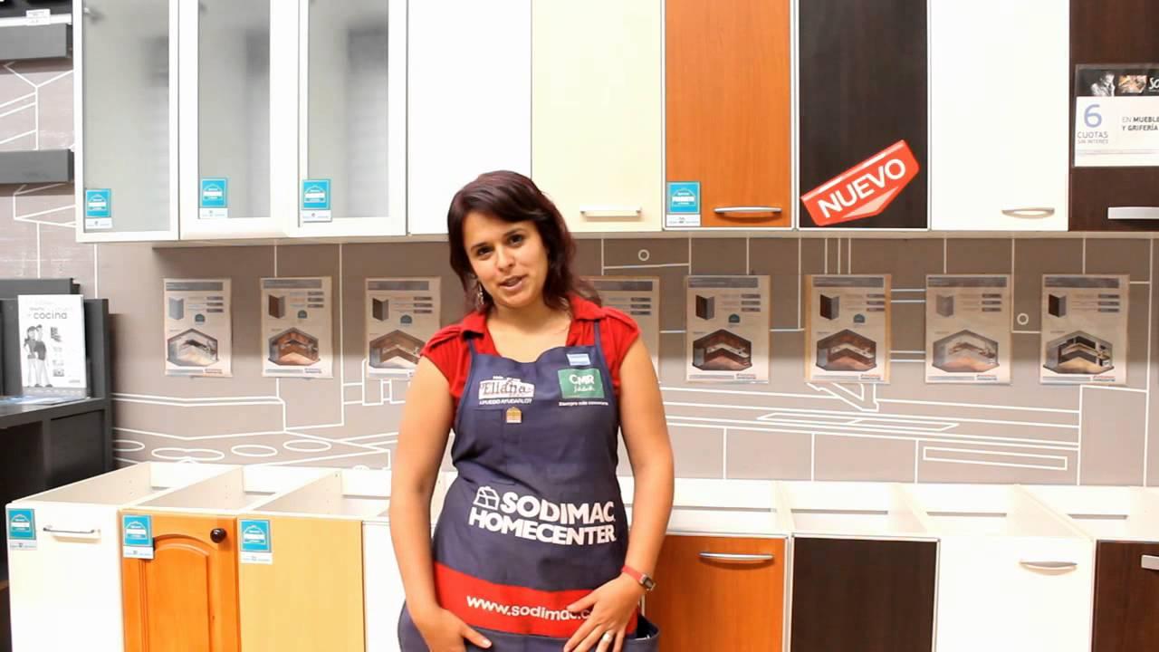 C mo elegir un mueble de cocina sodimac homecenter for Muebles de cocina homecenter