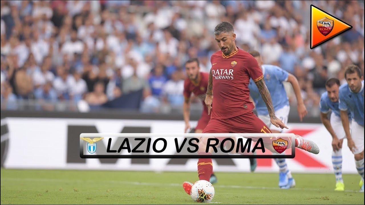 Lazio VS Roma 1-1 - Season 2019/2020 - YouTube