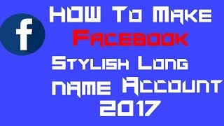 Download How To Make Facebook Stylish Name Ideas Videos