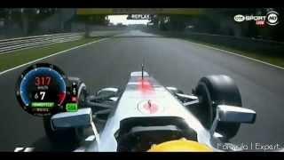 F1 2012 Monza Q3 - L Hamilton Pole Lap 1:24.010