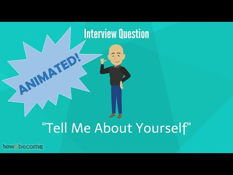 """How to Answer """"Tell Me About Yourself"""" - Interview Question"""