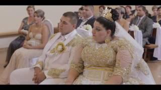 Пышная свадьба ромов в Словакии