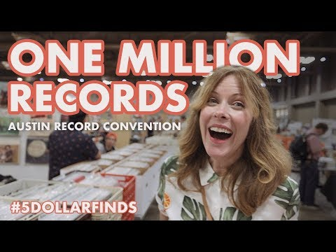 One MILLION Records Austin Record Convention  $5 Finds with Andrew & Kristi - EP05