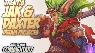 Jak and Daxter 4 Character Concept art (Time-Lapse)