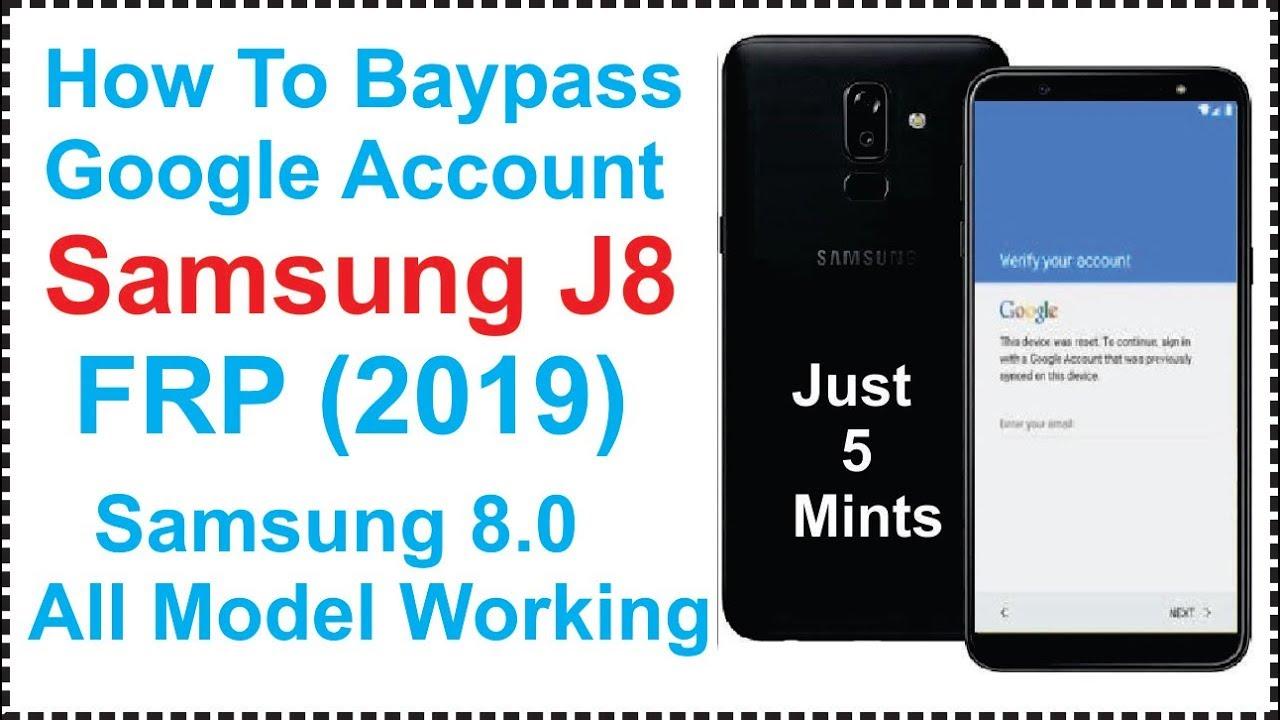Remove google account/FRP on Samsung J7 prime J7 max Samsung Galaxy J8 FRP  Nougat 8 0 2017-18 Hindi