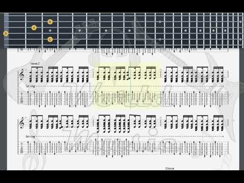 Green Day   Time Of Your Life GUITAR TAB
