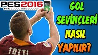 PES 2016 Gol Sevinçleri Nasıl Yapılır? | Tutorial