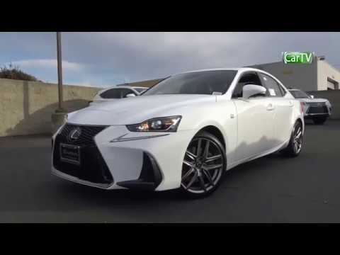 2018 Lexus Is350 F Sport 3 5 L V6 Review Youtube