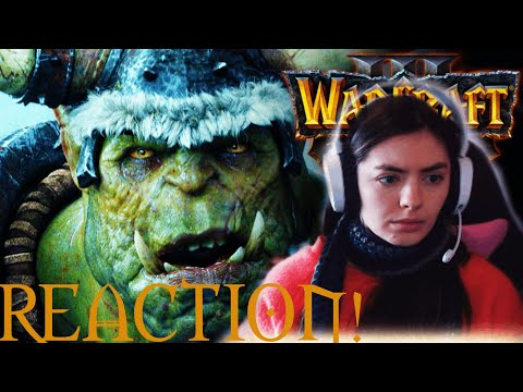 ДЕВУШКА ВИДЕО РЕАКЦИЯ | WARCRAFT 3 REACTION