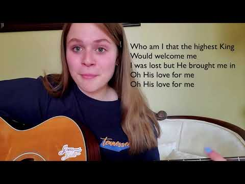 Who You Say I Am by Hillsong Worship cover by Jensen Snyder