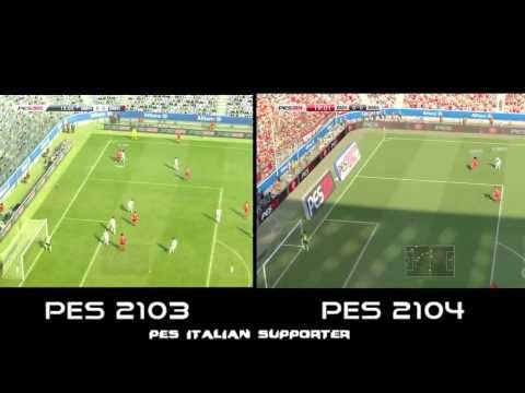 PES 2014 Vs PES 2013