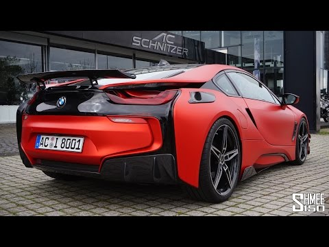 THIS is a BMW i8! The AC Schnitzer ACS8
