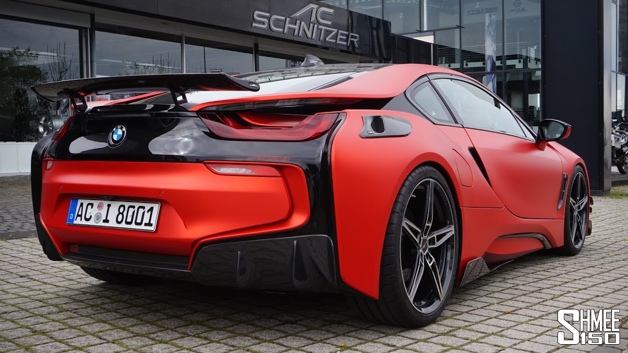 this is a bmw i8! the ac schnitzer acs8 - youtube