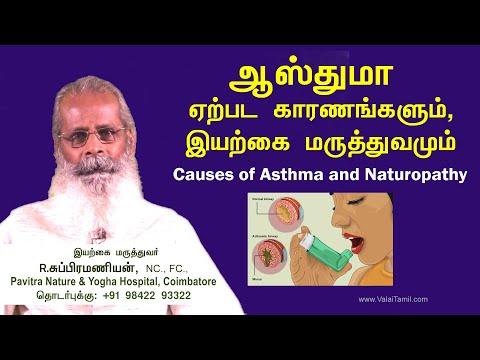 ஆஸ்துமா ஏற்பட காரணங்களும், இயற்கை மருத்துவமும் | Causes of Asthma and Naturopathy