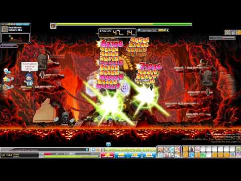 Maplestory - Lvl 122 Shade Solo Zakum Run
