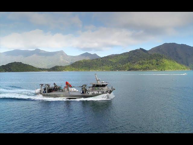 Aroma's new state-of-the-art mussel vessel - Kakara